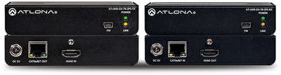 Atlona AT-UHD-EX-70-2PS 1:1 HDMI over HDBaseT Lite transmitter and Receiver product image