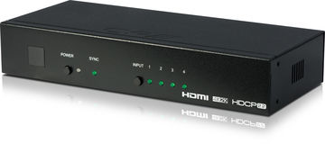 CYP EL-41HP-4K22 4:1 4K HDMI 2.0 switcher product image
