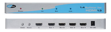 Gefen EXT-HDMI1.3-144 1:4 HDMI 1.3 Splitter product image