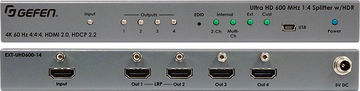 Gefen EXT-UHD600-14 1:4 Ultra HD HDR HDMI 2.0 distribution amplifier product image