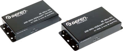 Gefen GTB-UHD600-HBTL 1:1 4K HDMI/IR/POE over HDBaseT Transmitter and Receiver product image
