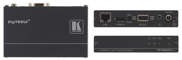Kramer TP-580TXR 1:1 HDBaseT HDMI/RS-232/IR over extended range Twisted Pair Transmitter product image