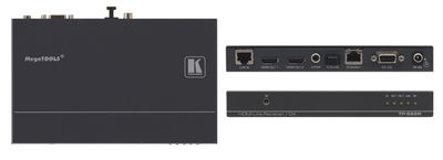 Kramer TP-582R 1:2 HDBaseT HDMI/Ethernet/RS-232/IR over Twisted Pair Receiver product image
