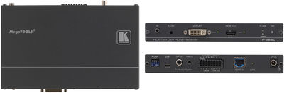 Kramer TP-588D 1:2 HDMI/DVI, Audio & RS-232 over HDBaseT Twisted Pair Receiver product image