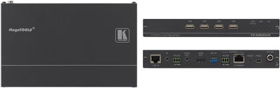Kramer TP-590RXR 1:1 HDMI, Audio, USB, PoC, Bidirectional RS-232 & IR over HDBaseT 2.0 Twisted Pair Receiver product image