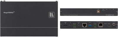Kramer TP-590TXR 1:1 HDMI, Audio, USB, PoC, Bidirectional RS-232 & IR over HDBaseT 2.0 Twisted Pair Transmitter product image