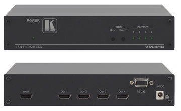 Kramer VM-4HC 1:4 HDMI 1.4 Distribution Amplifier with RS-232 control product image
