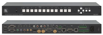 Kramer VP-771 9-input ProScale Presentation Switcher/Scaler with Fade Through Black switching product image