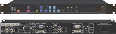 Kramer VP-797A 11:1x4 HQUltra 4K Presentation Scaler Switcher with audio product image