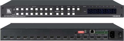 Kramer VS-88H2 8x8 4K 4:4:4  HDMI Matrix Switcher product image