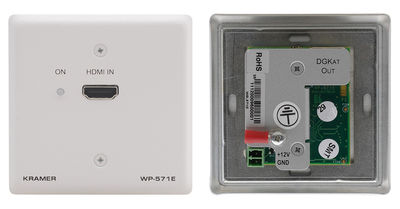 Kramer WP-571 1:1 DGKat HDMI over Twisted Pair Wall Plate Transmitter product image