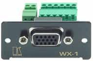 Kramer WX-1N HD-15 VGA/UXGA to 6+2 terminal block adaptor product image