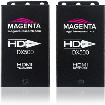 Magenta Research HD-One DX500 1:1 HDMI over Cat6 UTP transmitter and receiver set product image