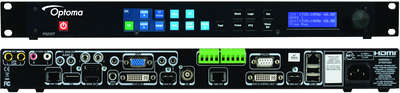 Optoma PS200T 8:1*3 Presentation Switcher/Scaler with HDMI and DVI-D outputs product image