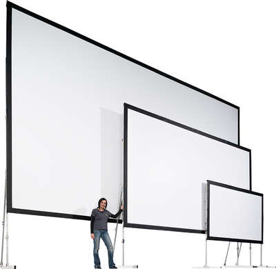 "AV Stumpfl BMS-AW217/R10 91"" (2.32m)  16:10 aspect ratio projection screen product image"