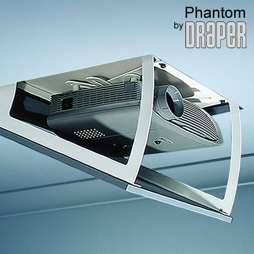 Draper 300370 Quot Phantom A Quot Concealed Projector Lift