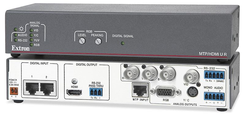 Extron MTP/ HDMI U R (60- 1048- 01 Distribution -  HDMI & DVI (Twisted Pair))