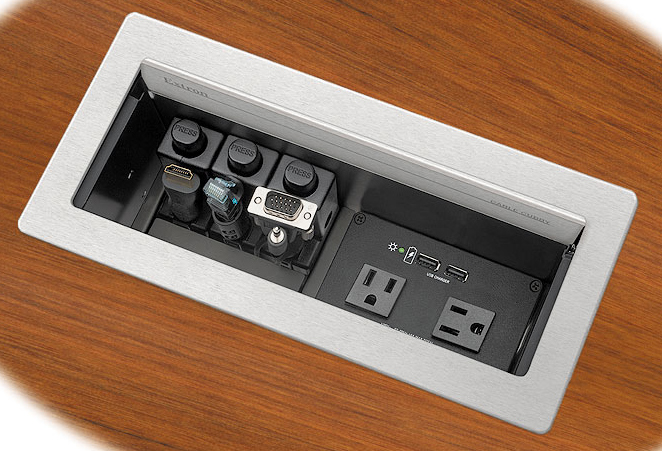 Extron Cable Cubby 1202 - Series/2 Cable Access Enclosure for AV
