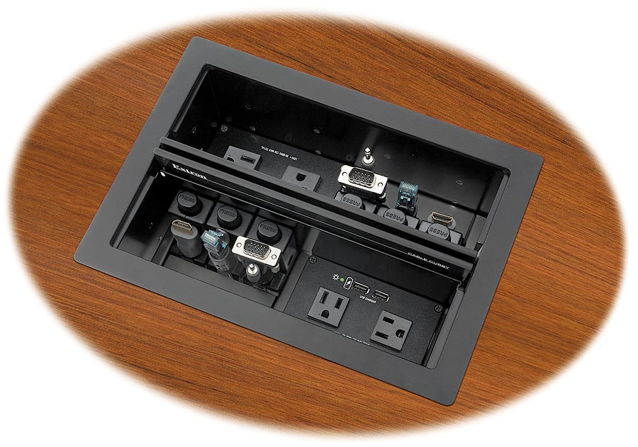 Extron Cable Cubby : Extron cable cubby series access enclosure