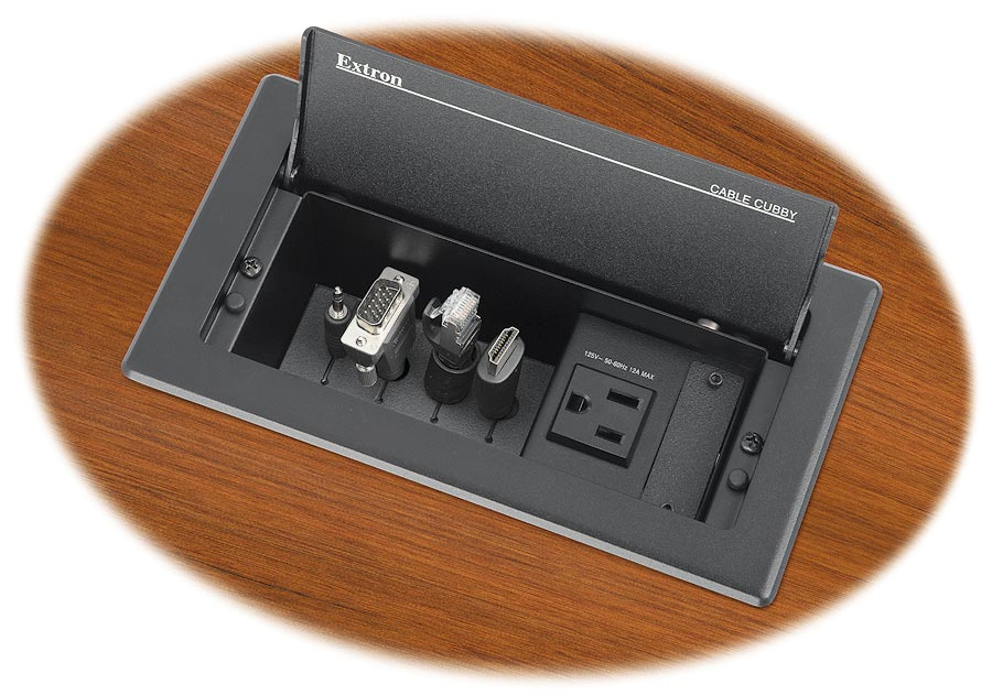 Extron Cable Cubby 202 Uk Series 2 Cable Access