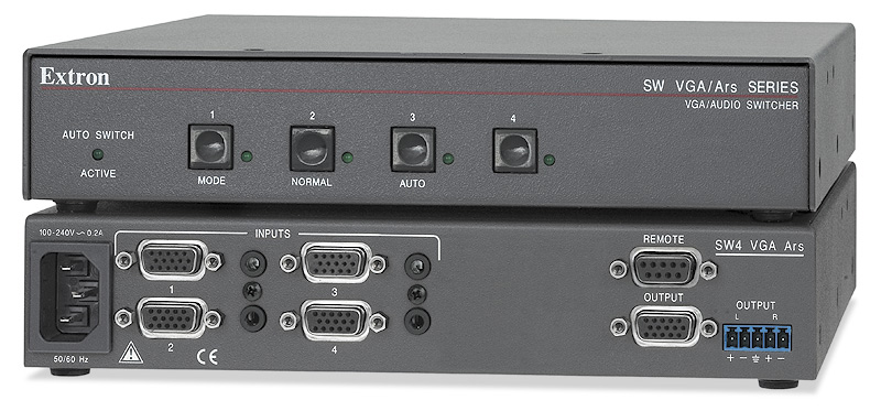 EXTRON SW4 VGA ARS AUDIO & VGA SWITCHER DRIVERS FOR WINDOWS 10