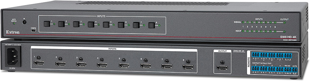 Extron SW8 HD 4K product image