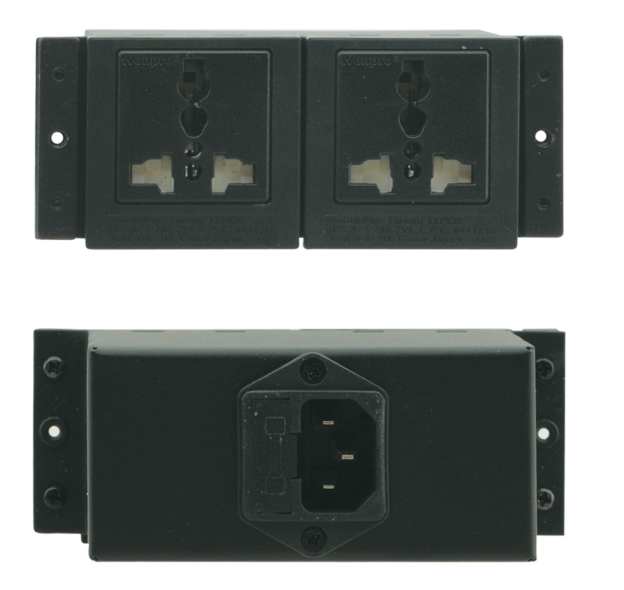 Kramer TS-2GB Dual UK Power socket for TBUS product image