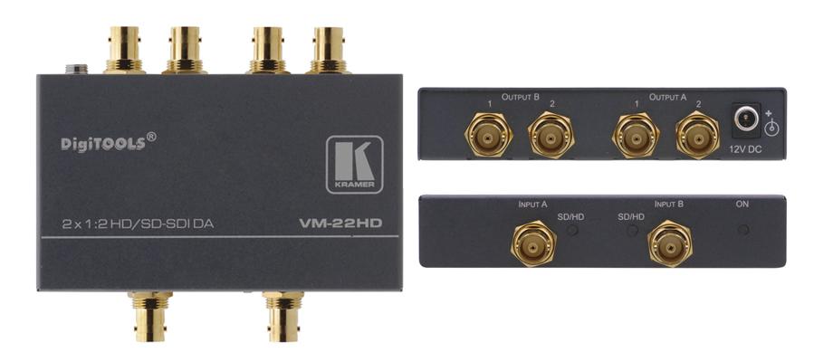 Kramer VM-22HD - 1:2x2 HD-SDI ...