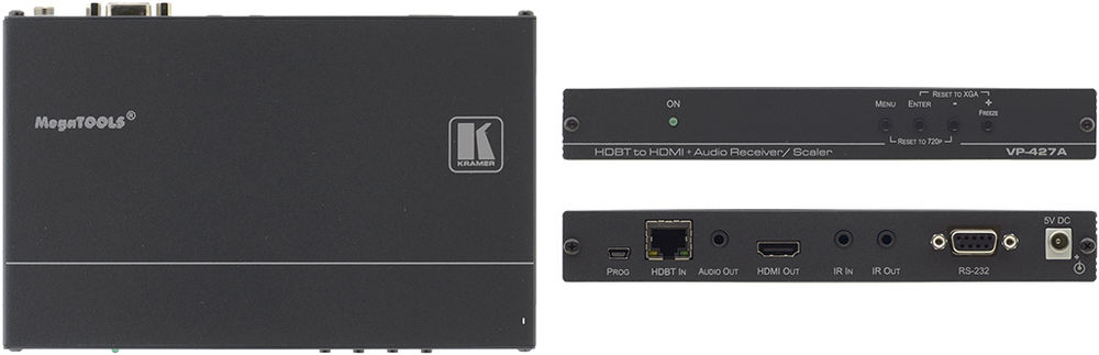KRAMER VP-427A RECEIVERSCALER DOWNLOAD DRIVER