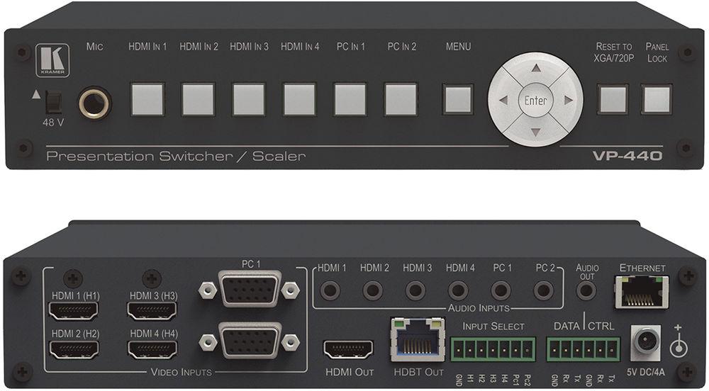 Kramer VP-427A Receiver/Scaler Drivers for Windows 7