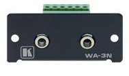 Kramer WA-3N Dual 3.5mm to terminal block stereo-audio connector product image
