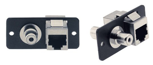 Kramer WR45 RCA and RJ-45 pass through product image