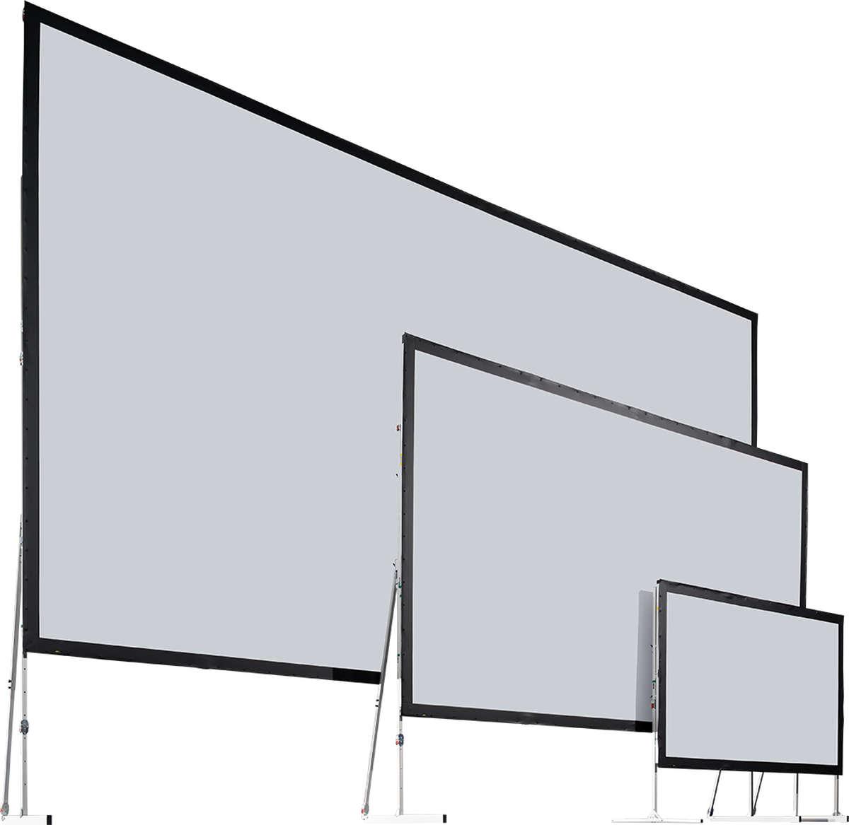 Stumpfl Varioclip Rear Projection Bcv Flex Folding Projector Screen