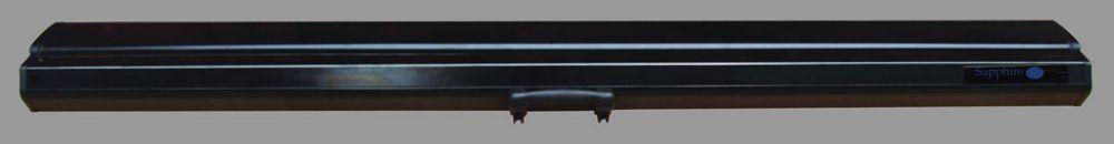 Sapphire electric floor sefl177 wsf matt white pull up for Motorized floor up screen