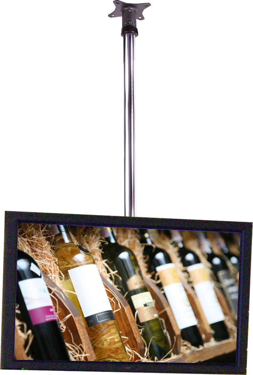 Unicol Kp120cb Monitor Tv Ceiling Mount Kit With 2 Metre