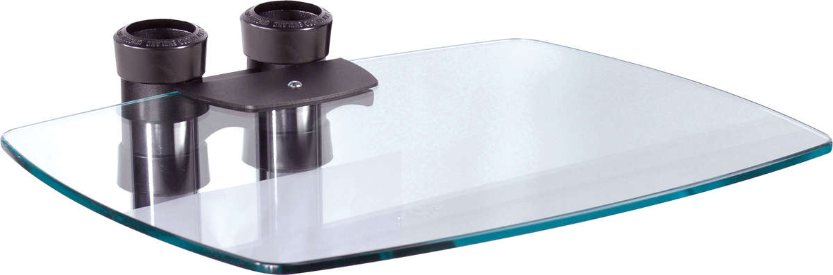 Unicol VGS VS1000 40*50cm toughened glass shelf for VS1000 stands and trolleys product image