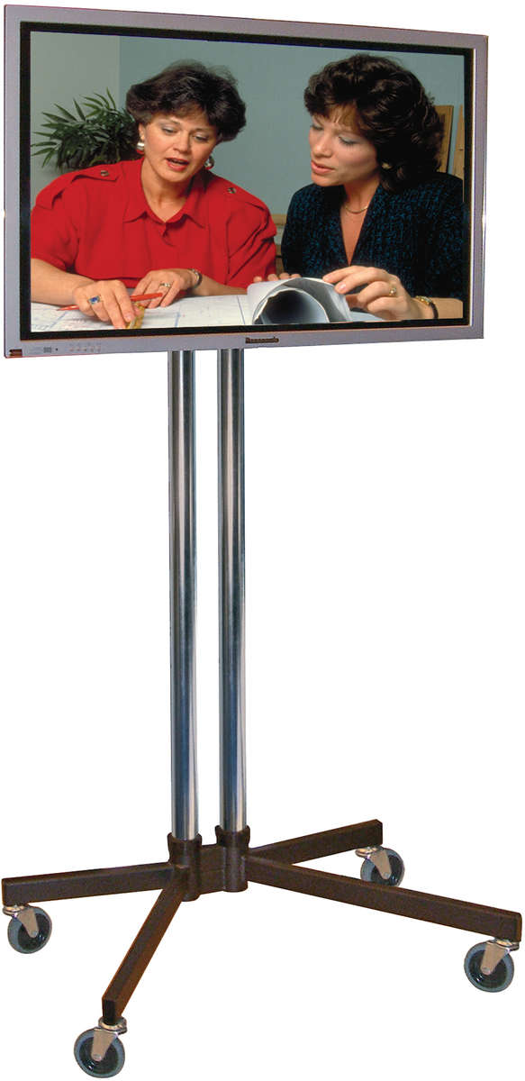 Unicol VS1000/K/VESA-L Trolley Standard K base modular Trolley for screens up to 70 inch with VESA mount product image