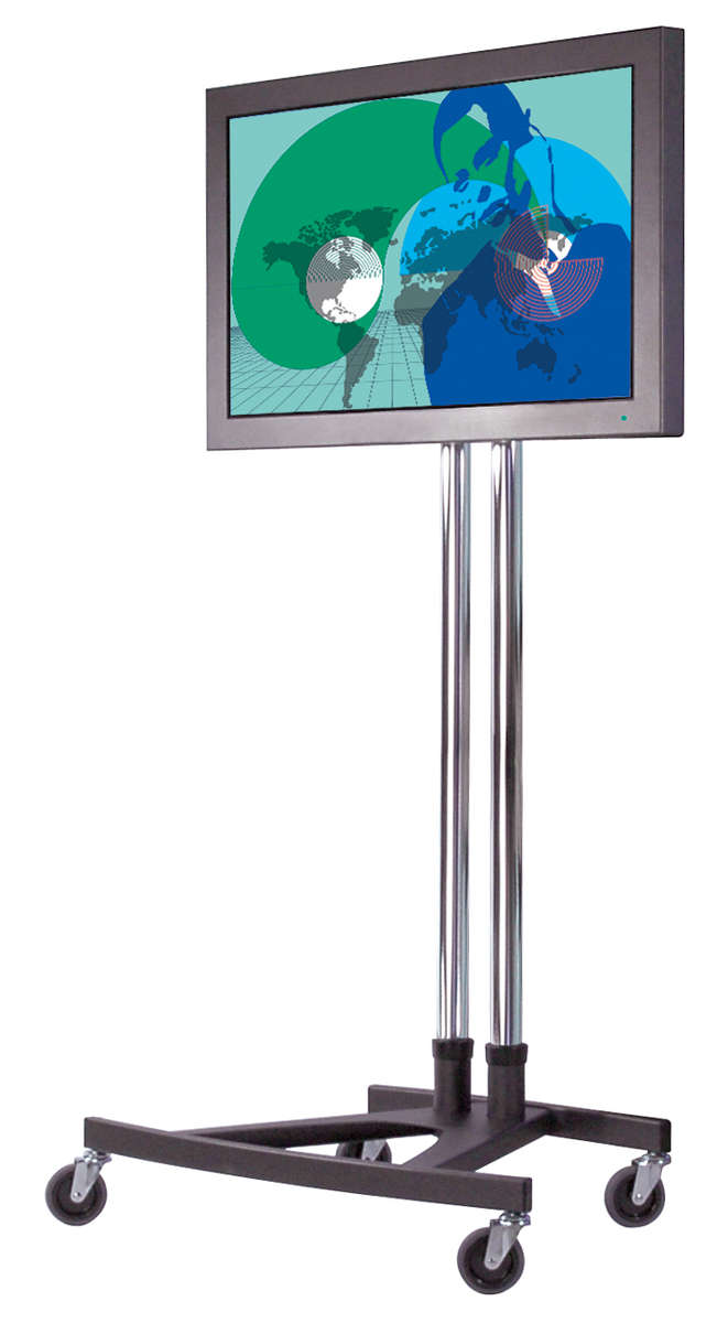 Unicol VS1000/VESA-L Trolley Scimitar Modular Trolley for screens up to 70 inch with VESA mount product image