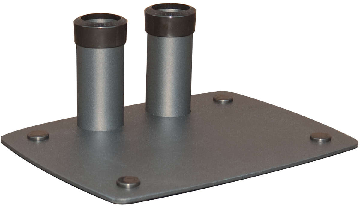 Unicol VSF Compact bolt down base for Unicol flat panel stands - twin column product image