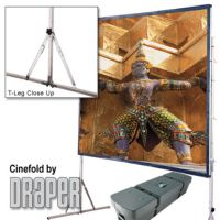 Draper Cinefold Projection Screens